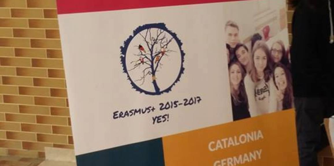 Dissemination of Erasmus+ and YES! during The Open Day of our school
